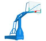 东莞龙翔灌神LX-002B高档仿液压式移动篮球架厂家批发质量保证江西篮球架