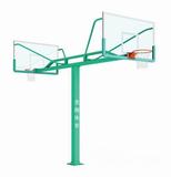 厂家供应龙翔LX-012海燕式固定篮球架 厂家直销质量保证安徽省篮球架
