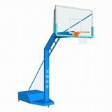 LX-006B单臂圆管移动篮球架